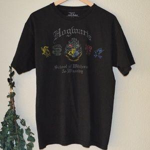 Unisex Universal Studios Hogwarts Tee Sz L